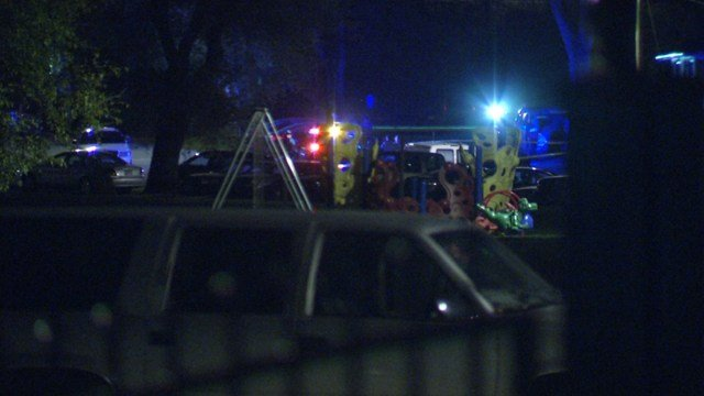 The shooting happened about 9 p.m. Monday at 31st St. and W. Parkwood Boulevard. (KCTV5)