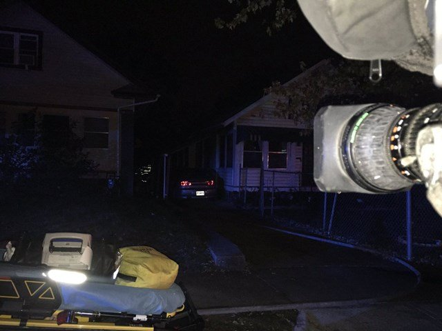 It happened about 5 a.m. in the 4900 block of Bellefontaine Avenue. (KCTV5/Nate Nottage-Tacey)