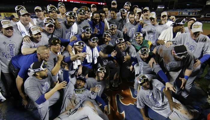 One year ago Tuesday, the Kansas City Royals won the crown and claimed their second World Series championship in franchise history. (AP)