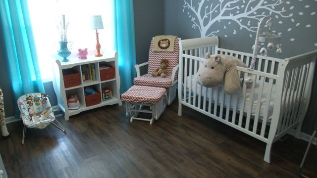 This is the nursery the Duckworth's decorated in anticipation of adopting a baby. However, it didn't work out. (Natalie Davis/KCTV)