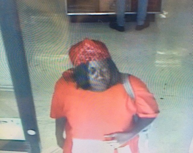 Authorities are looking for this person in connection with three grocery store fires in KCK. (Kansas City, Kansas Fire Department)