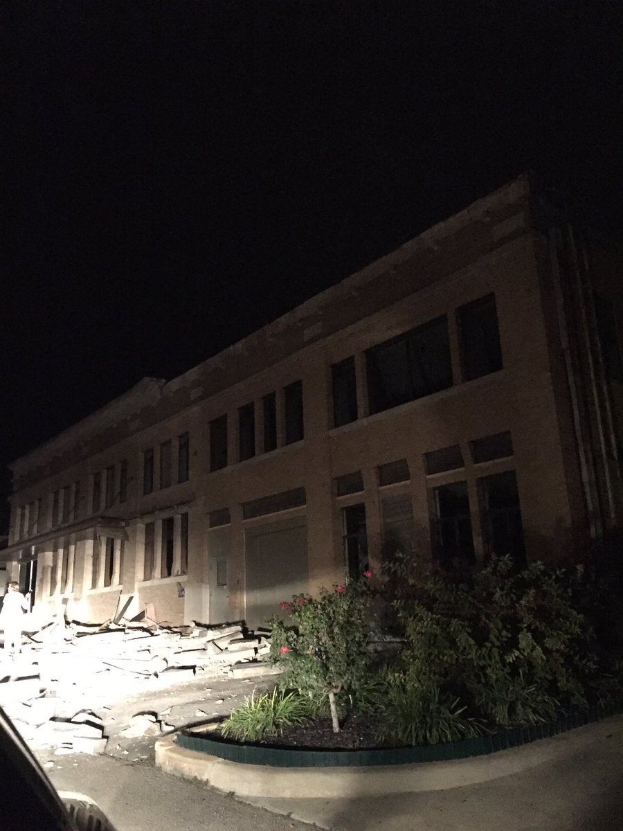 Damage has been reported in Cushing, OK, according to the Cushing Police Department.No confirmed damage yet in the metro. (Kevin Stump)