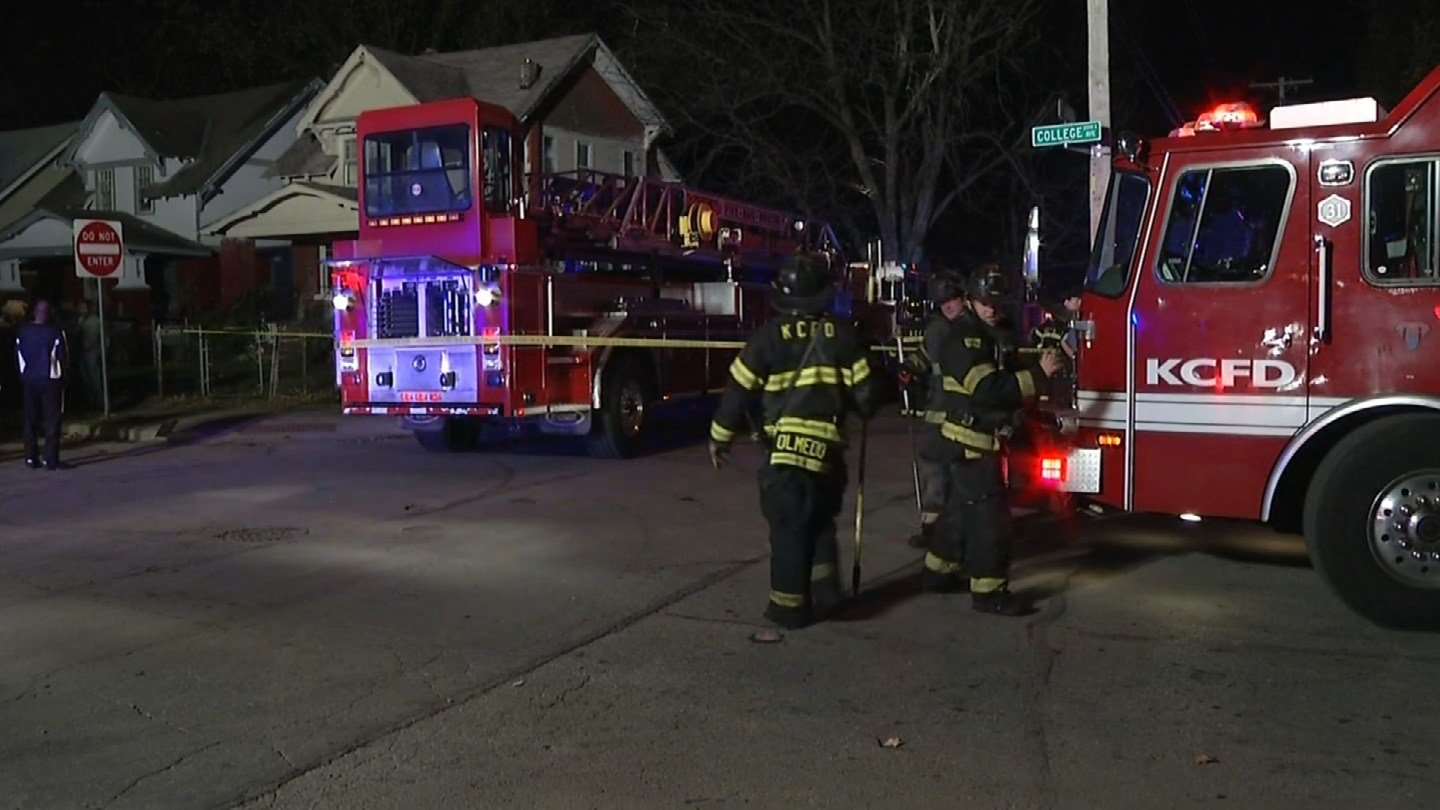 A former firefighter was killed in a fatal fire Sunday evening at 37th and College. (KCTV5)