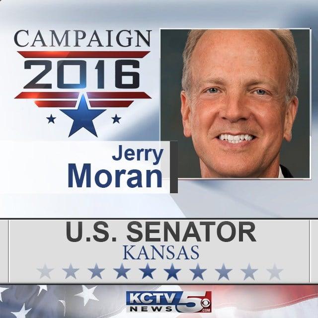 Kansas voters have sent U.S. Sen.JerryMoranback to Washington, D.C., to represent them. (KCTV5)