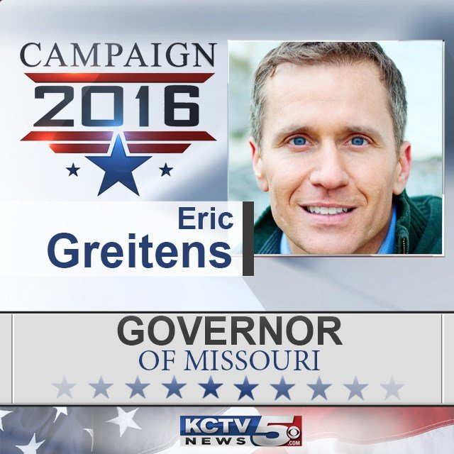 Democrat Chris Koster concedes Missouri governor's race to Republican Eric Greitens. (KCTV5)
