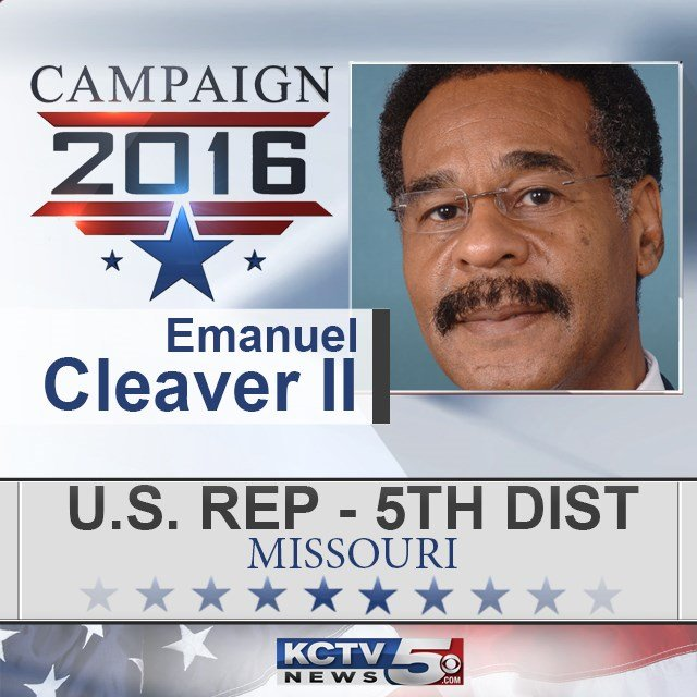 Democrat Emanuel Cleaver has won a seventh term in Congress representing the Kansas City area and western Missouri. (KCTV5)