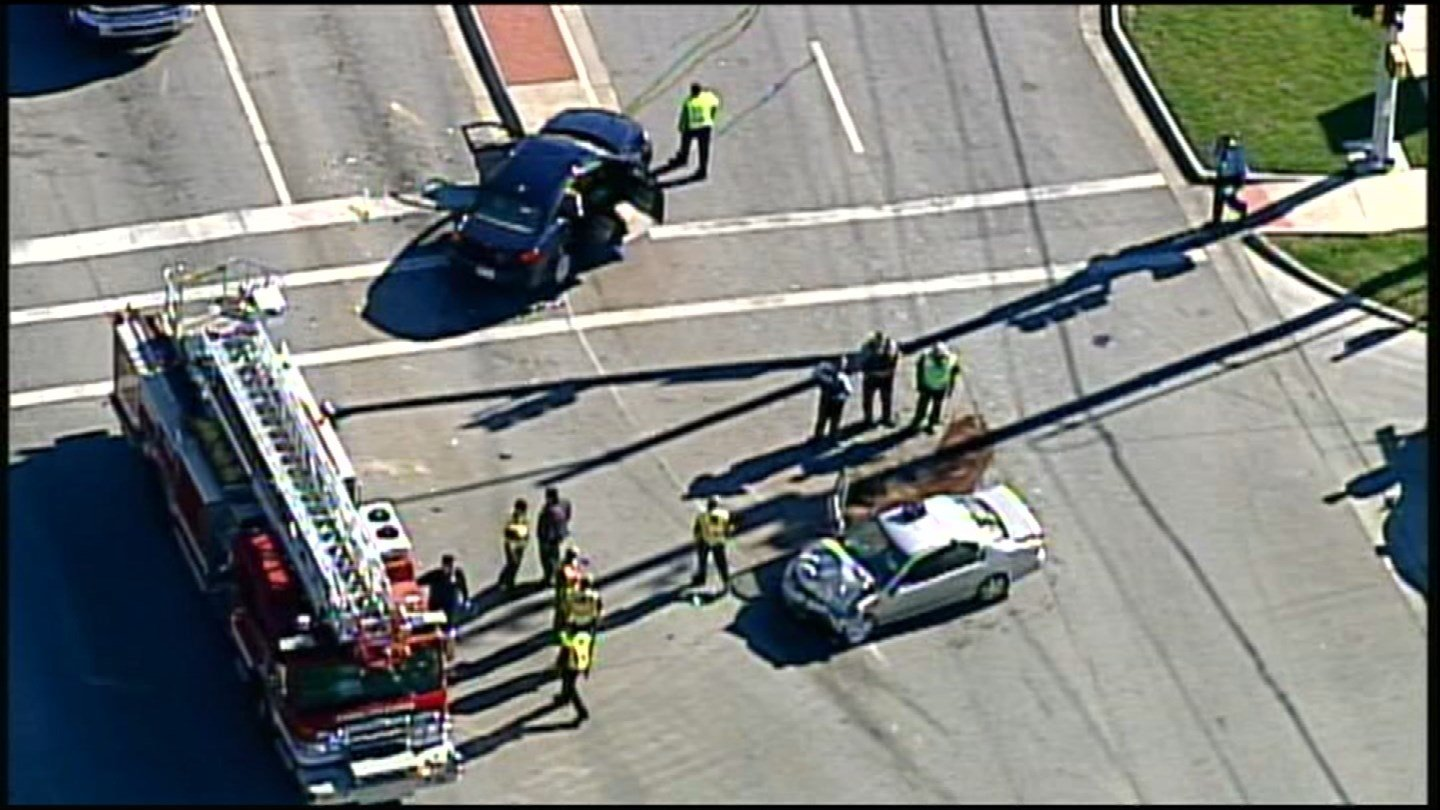 Police responded to a serious accident Thursday near 75th Street and State Avenue. (Chopper5)