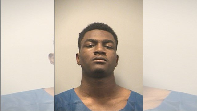 Romahn M. Burgin, 17, faces charges of unlawful use of a weapon and armed criminal action charges. (Kansas City Police Department)