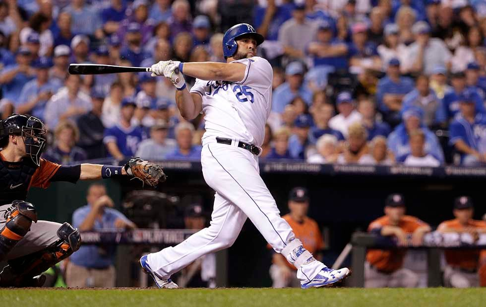 It looks like the Kansas City Royals will permanently lose designated hitter Kendrys Morales. (AP)