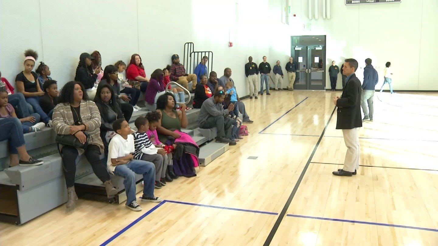 The program is designed to bring together police officers and those they serve. (KCTV)