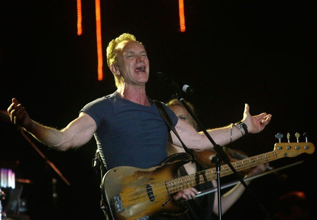 Sting is coming to Kansas City. The composer, singer-songwriter, actor, author and activist will be at the Uptown on Feb. 16. (AP)
