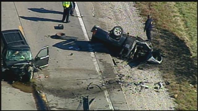The Kansas Highway Patrol said the two-vehicle wreck happened about 11:30 a.m. on Kansas Highway 68. (KCTV5)