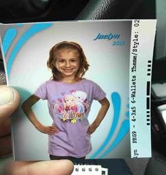 "Jaelynn Vanmetre has been missing 11:30 a.m. on Monday. She is 4'6"" and weighs about 54 pounds. (Overland Park Police)"