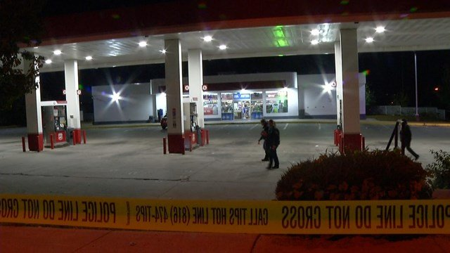 Police say when they responded to the call they saw signs of a shooting but no victims were found.(KCTV5)