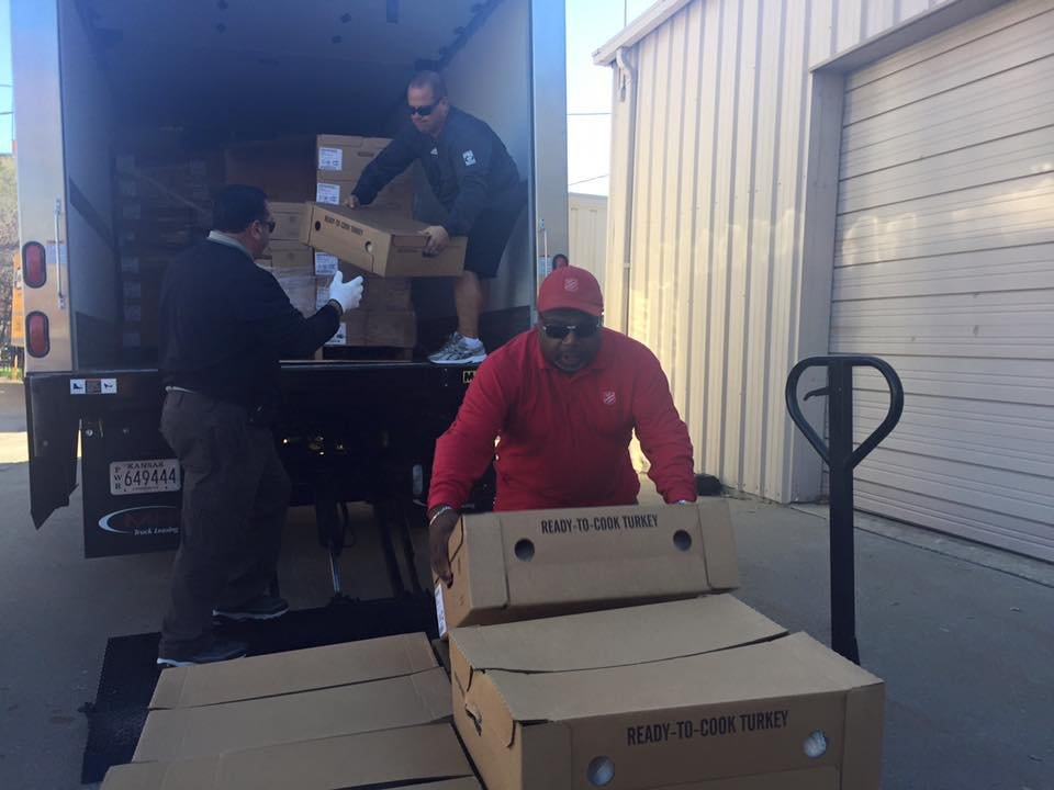The Salvation Army has 400 reason to be thankful this season.  With just a week away from Thanksgiving, a generous donation of 400 turkeys were delivered to the Salvation Army on Wednesday morning. (The Salvation Army/Facebook)