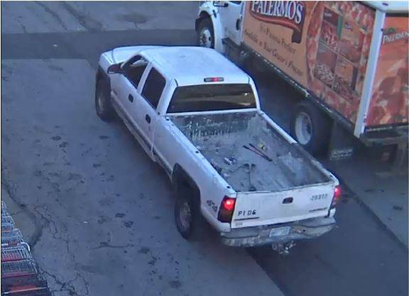 Police want others to be on the lookout for an early 2000s Chevy Silverado 2500. (PVPD)