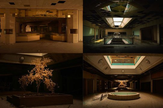 Seph Lawless is an internationally known photographer who documents anything that has been abandoned, and his photos and video of Kansas City's former mall have gone viral. (Seph Lawless)