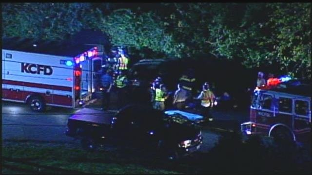 Police are investigating a multi-vehicle wreck on Bannister Road and Stubbs Road in Kansas City. (KCTV5)