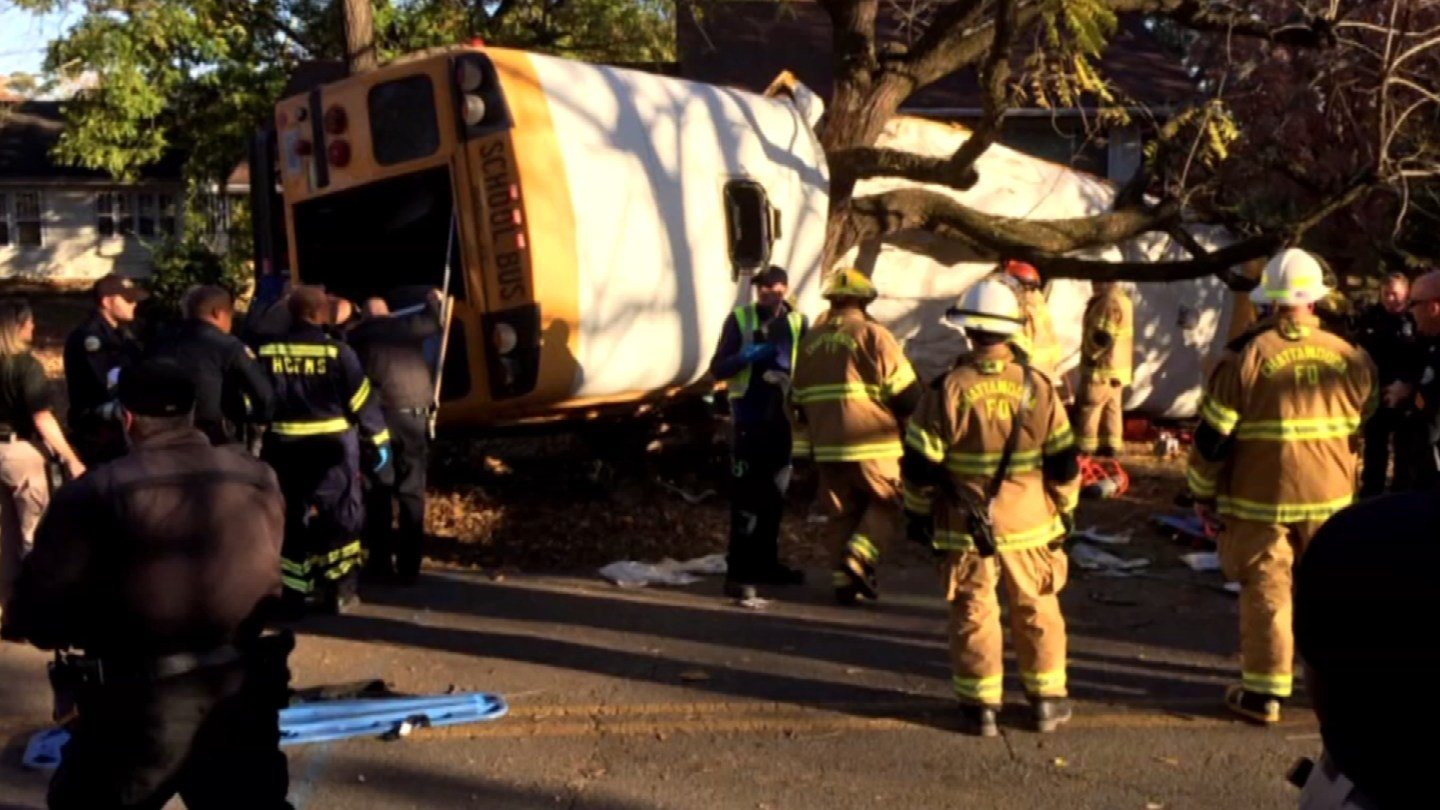 Anytime there's a bus crash, particularly one as devastating as the one in Tennessee on Monday, parents always the question - what can be done to keep our children safe? (CBS)