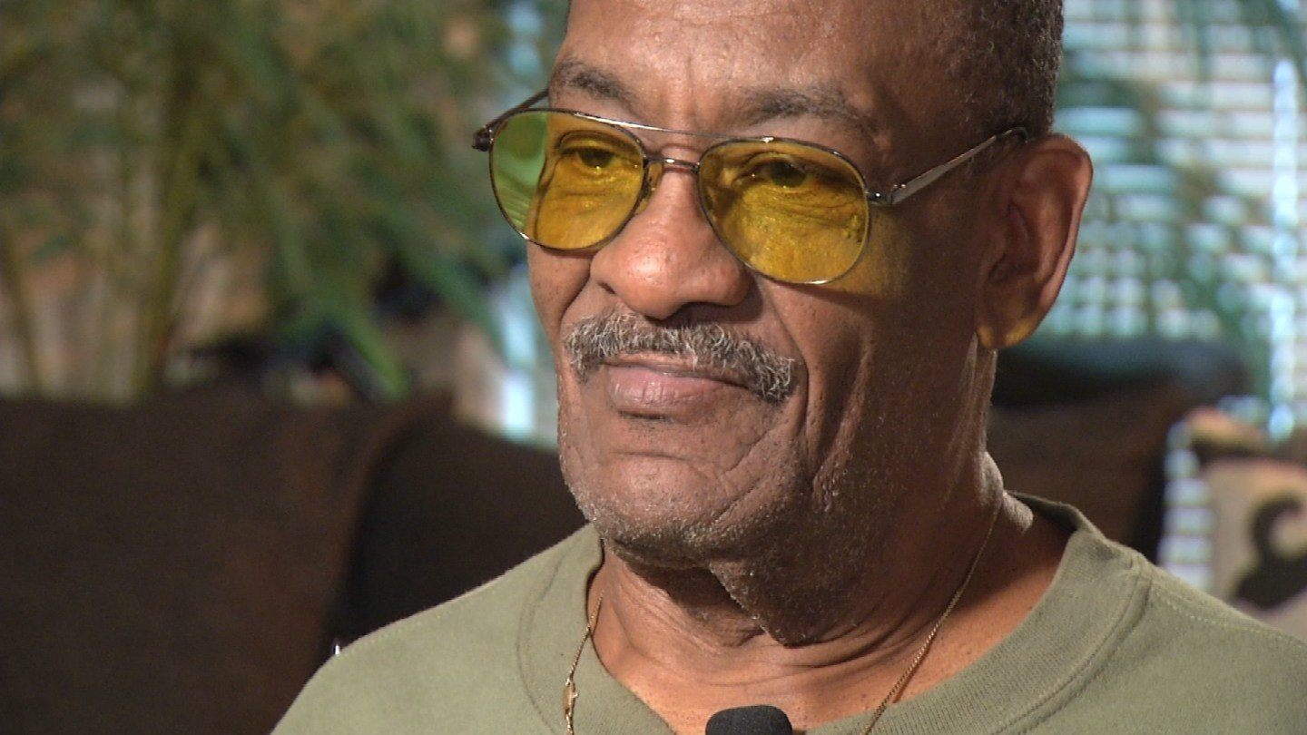 T.S. Berry, 72, is fighting cancer. He said medical bills and paperwork problems were a perfect storm that left him homeless. (KCTV5)