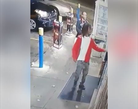 Surveillance video caught footage of her car being stolen. (KCTV)