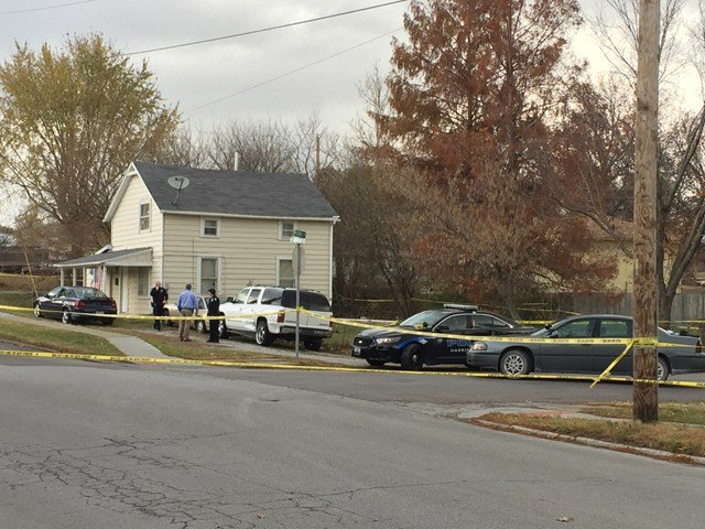 Authorities are investigating a shooting Monday that left a woman dead and a man in the hospital. (KCTV5)