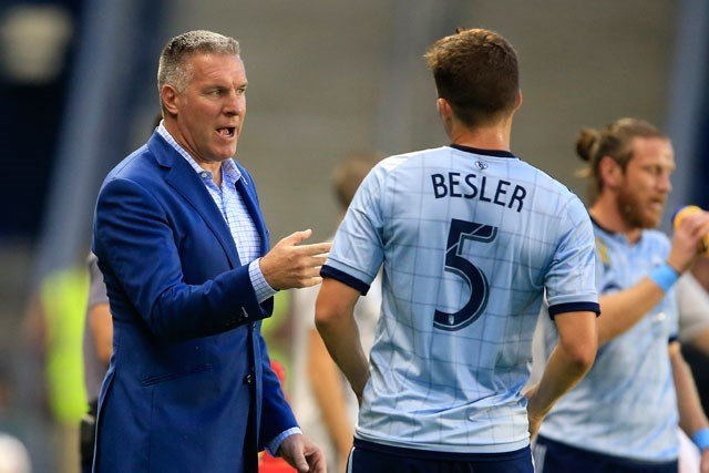 Sporting Kansas City has signed coach Peter Vermes to a contract extension through the 2019 season. (AP)