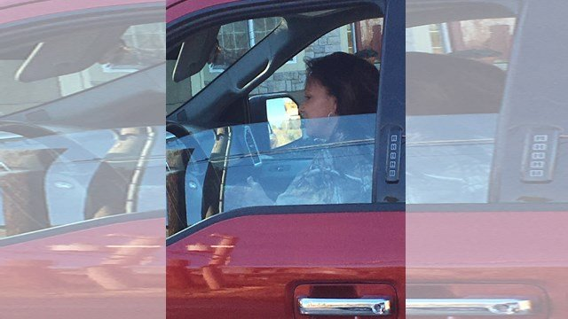 If you recognize the woman or the red Ford 150 truck, call the TIPS Hotline at 816-474-TIPS.(Submitted)
