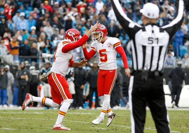 On Thursday, the NFL named Chiefs third-year kicker Cairo Santos the AFC Special Teams Player of the Month for November. (AP)