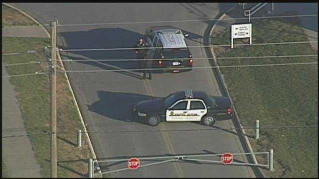 Olathe Northwest High School is on lockdown after a possible handgun was located on school property. (KCTV5)
