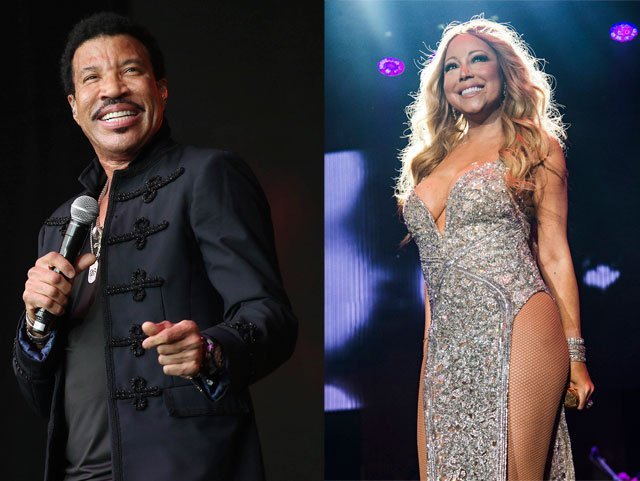 Get ready to party all night long with Lionel Richie and Mariah Carey. (AP)