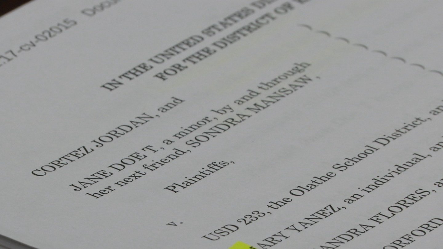 The lawsuit alleges the girl was bitten and she and her brother were struck in a fight between the classmate and two employees.The two employees were fired and have been charged with misdemeanor battery.(KCTV5)