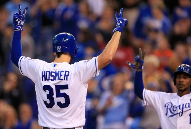 Hosmer, 27, set career highs in 2016 with 25 home runs and 104 RBI.