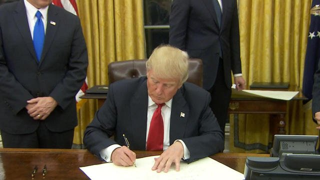 President Donald Trump (CBS)