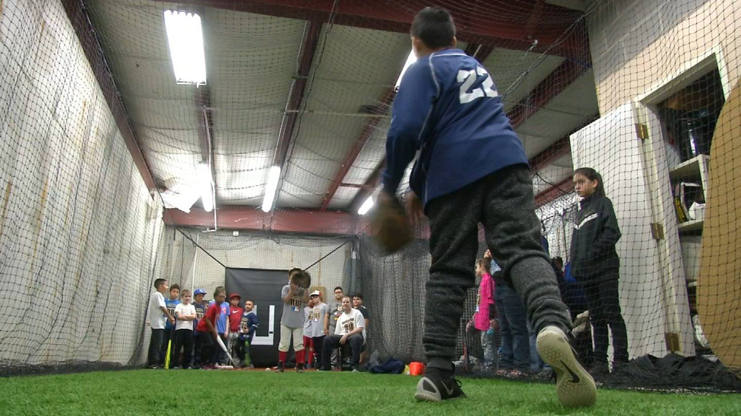 The kids who play ball for the Kansas RBI naturally look up to Kansas City Royals players. (KCTV5)