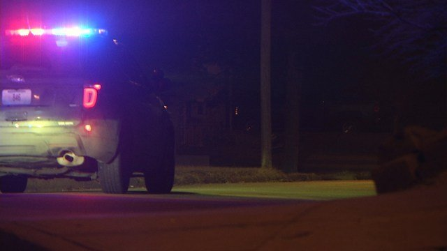 Police used police dogs and a helicopter to try to track the suspects down. (KCTV5)