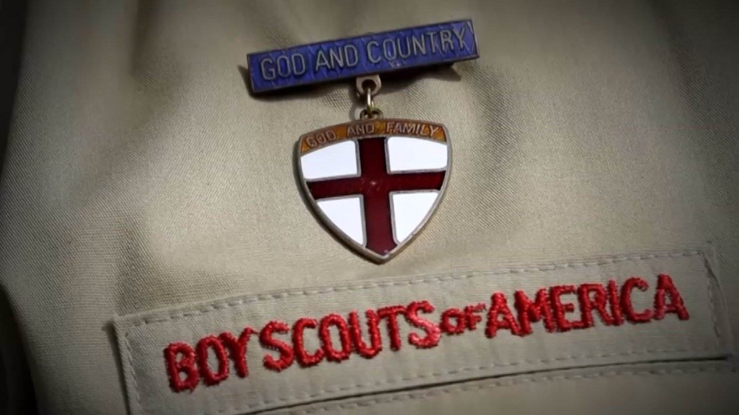 The 16-year-old is part of Troop 962 at St. Andrews Methodist Church. (CBS)