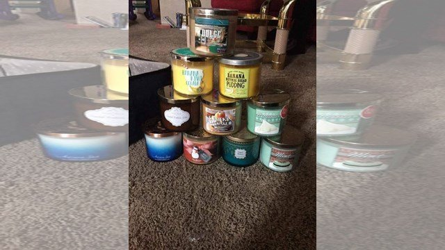 The candles that were stolen cost more than $20 each. (Nathan Vickers/KCTV)