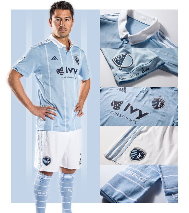 pretty nice a2941 0ccd5 Sporting KC unveils new primary jersey for 2017 season ...