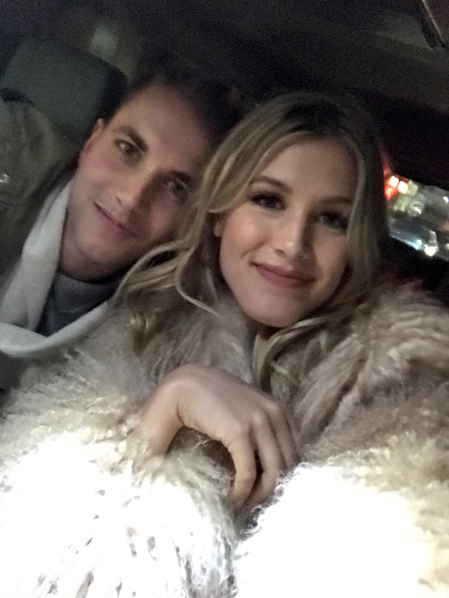 Professional tennis player Genie Bouchard has made good on her deal to go out on a date with a student from the University of Missouri. ( @geniebouchard)