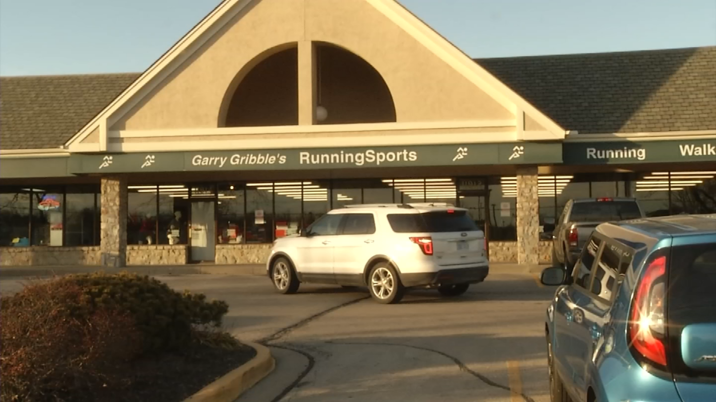 A Garry Gribble's Running Sports store. File photo. (KCTV)