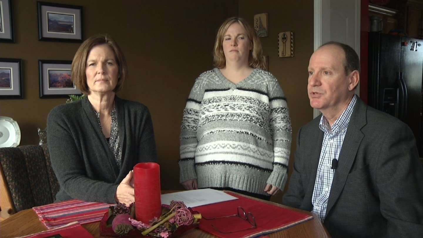 Megan Miller's parents say they didn't even know their daughter was being investigated until the investigation was closed and decisions were made. (KCTV5)