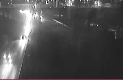Police say the pedestrian was killed on I-70 westbound at Admiral Boulevard. The incident happened at 10:51 p.m.(KC Scout)