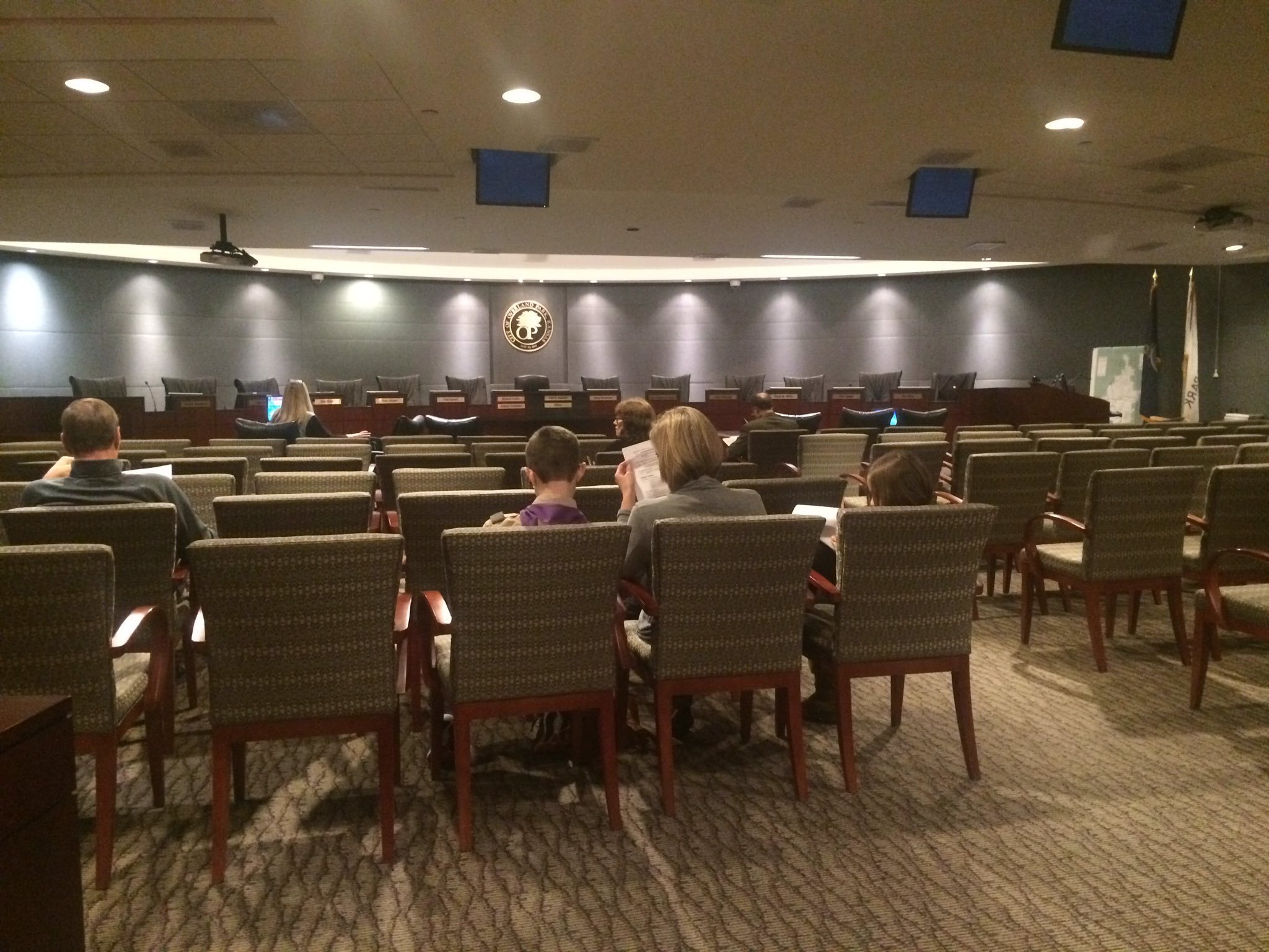 The Overland Park City Council voted Monday night not to send the issue back to the planning and zoning commission. (KCTV5)