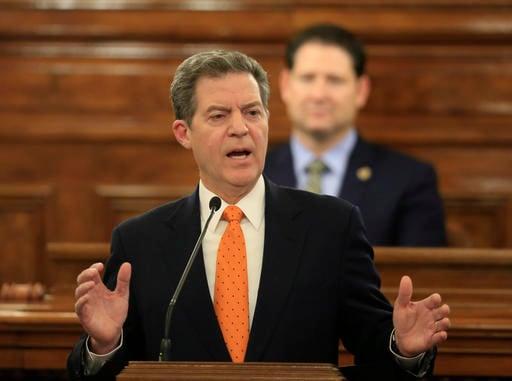Kansas Gov. Sam Brownback announced he will veto a proposed tax increase for Kansas.(AP)