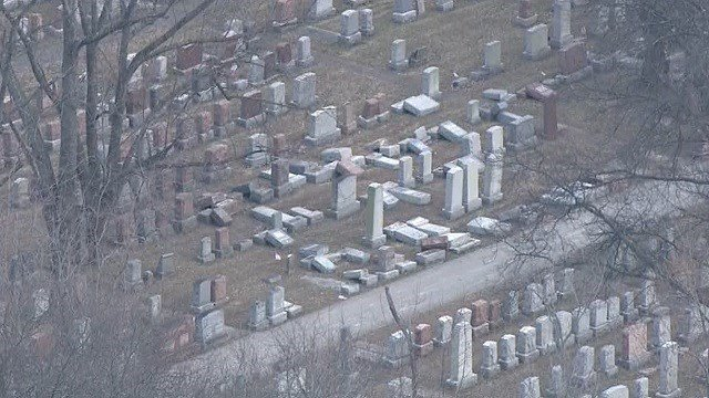 "Vice President Mike Pence is condemning a ""vile act of vandalism"" at a suburban St. Louis Jewish cemetery where more than 150 headstones were damaged earlier this week. (KMOV)"