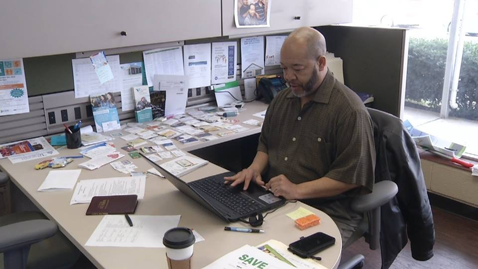 Holland says through the Affordable Care Act (or Obamacare), they were able to enroll more than 9,000 individuals for health insurance.   One of those was 55-year-old Broderick Crawford, who lost coverage after he changed jobs.  (Ashley Arnold/KCTV5)