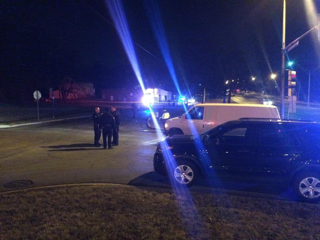 Two individuals were shot while parties in two different vehicles fired guns at each other.(KCTV5)