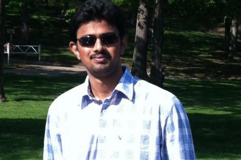 People remember Srinivas Kuchibhotla as a kind and loving friend and co-worker.(Submitted)