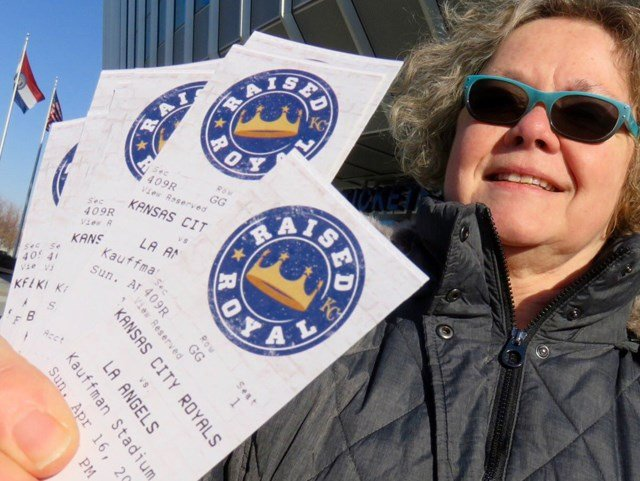 Single-game tickets for all home games, except Opening Day, went on sale at 9 a.m. at the Kauffman Stadium box office on Monday. (KCTV5)